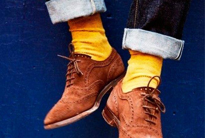 Кто-то проявляет изрядную щепетильность в подборе носков под обувь и  одежду, а кто-то считает, что единственное правило — не заправлять в них  брюки. 0896ad80862